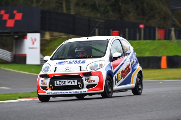 HE Racing Citroen C1 of the Cockill family