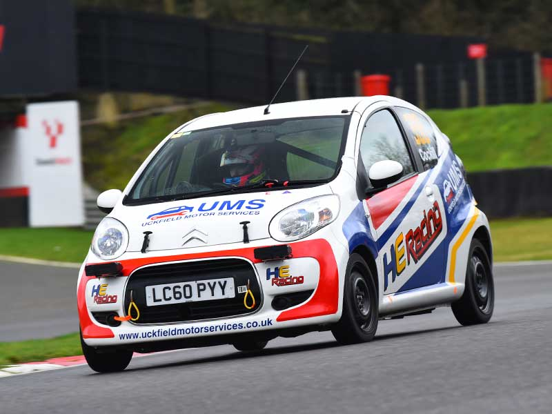 HE Racing Citroen C1 sponsored by Uckfield Motor Services
